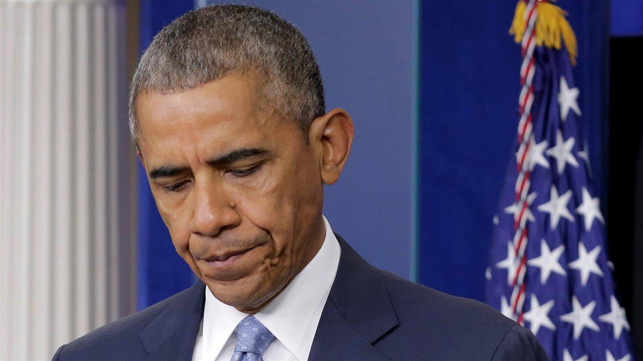 S'adressant au peuple américain, le président Barack Obama a vivement condamné l'attaque contre des policiers louisianais.