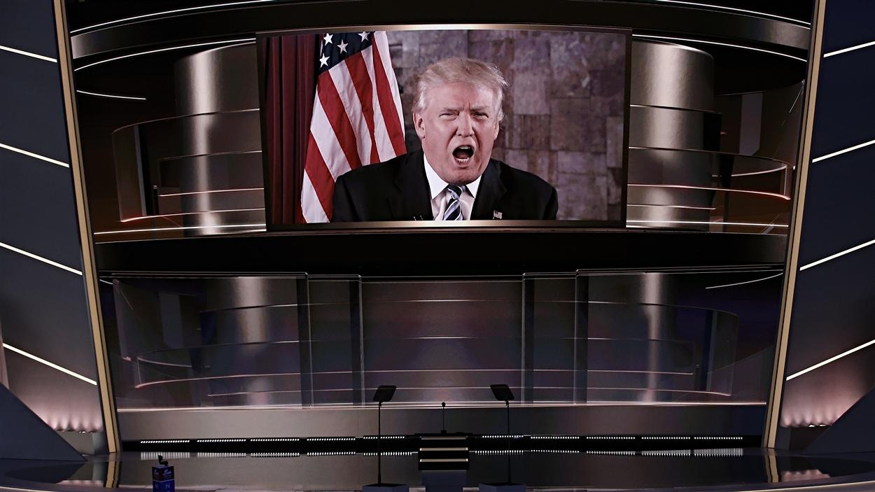 Les délégués à la convention républicaine confirme Donald Trump comme candidat à la présidentielle américaine.