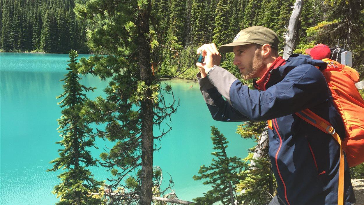 Même notre guide Stéphane Mousseau a voulu immortaliser ce paysage