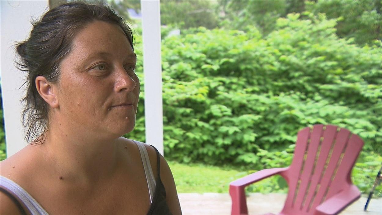 Sonia St-Onge, résidente de Lac-au-Saumon