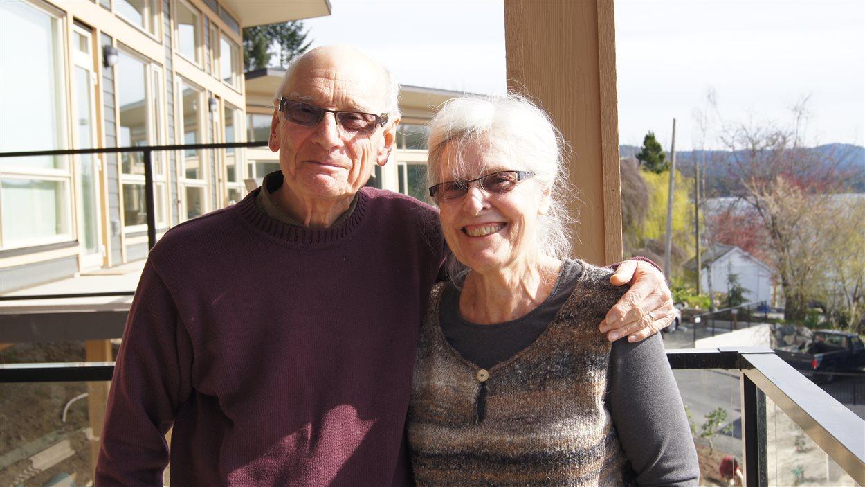 Arleen et Bob Stamp