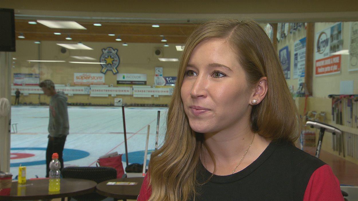 Kaitlyn Lawes, médaillée d'or aux Jeux olympiques de Sotchi.