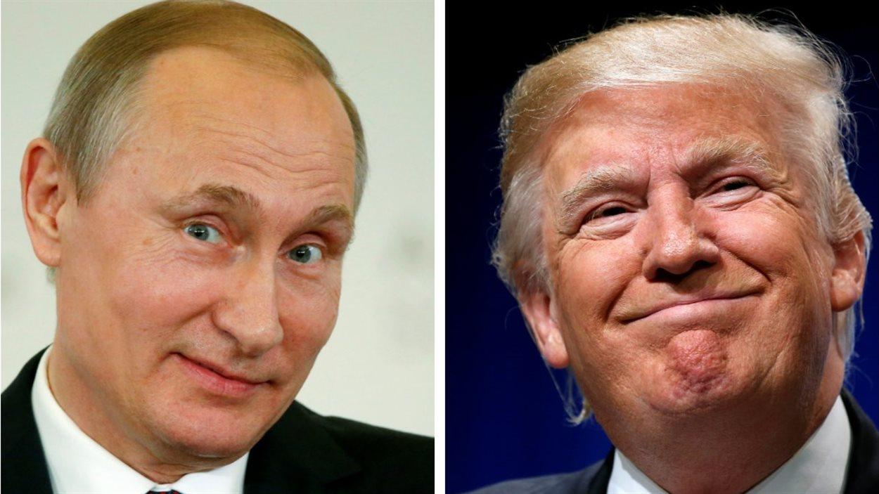 Le Parti démocrate suspecte Vladimir Poutine de vouloir aider le candidat républicain Donald Trump
