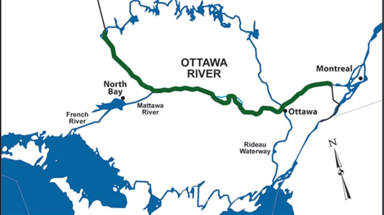 Ce tronçon de 590 km de la rivière des Outaouais fait maintenant partie du Réseau des rivières du patrimoine canadien en 2016.