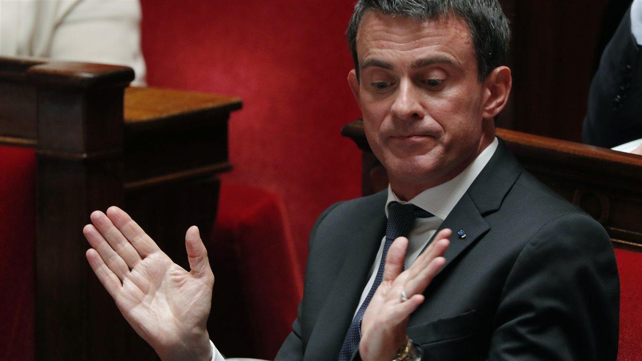 Le premier ministre français Manuel Valls a été vivement critiqué par la droite après les récentes attaques terroristes.
