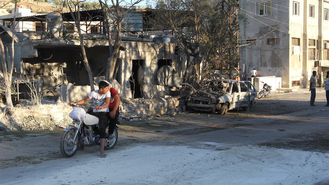 Une maternité soutenue par l'ONG Save the Children a été touchée aujourd'hui au nord-ouest de la Syrie, faisant de nombreux blessés.