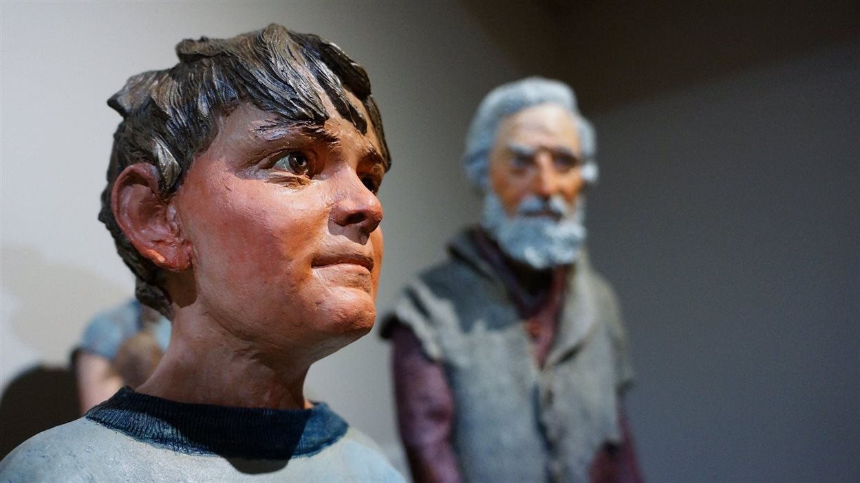 L'exposition de Joe Fafard «Fafard et famille» est présentée jusqu'au 4 septembre à la galerie Buhler de Saint-Boniface.