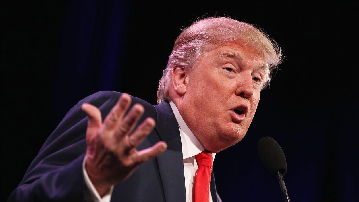 Le candidat républicain à l'élection présidentielle américaine, Donald Trump.