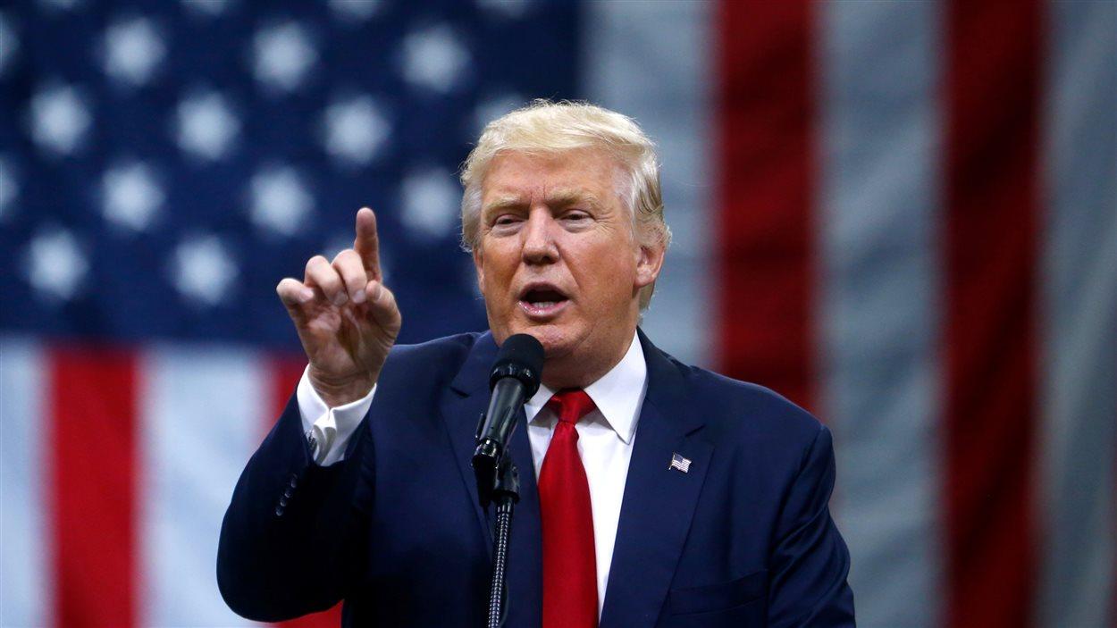 Donald Trump à Colombus, en Ohio.