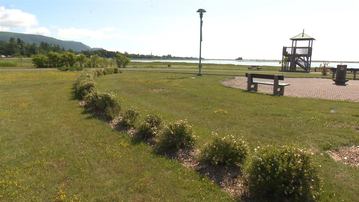 Parmi les endroits où la Ville de Carleton compte investir pour l'amélioration des infrastructures, la halte routière de Saint-Omer.
