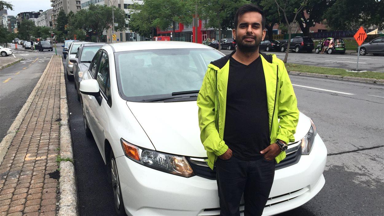 Sunil Motihar, utilisateur de Turo