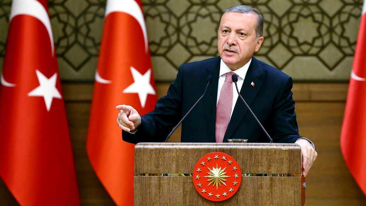 Le président turc, Recep Tayyip Erdogan, le 2 août 2016