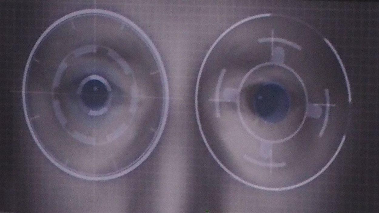 La reconnaissance de l'iris pour déverrouiller les téléphones intelligents gagne en popularité