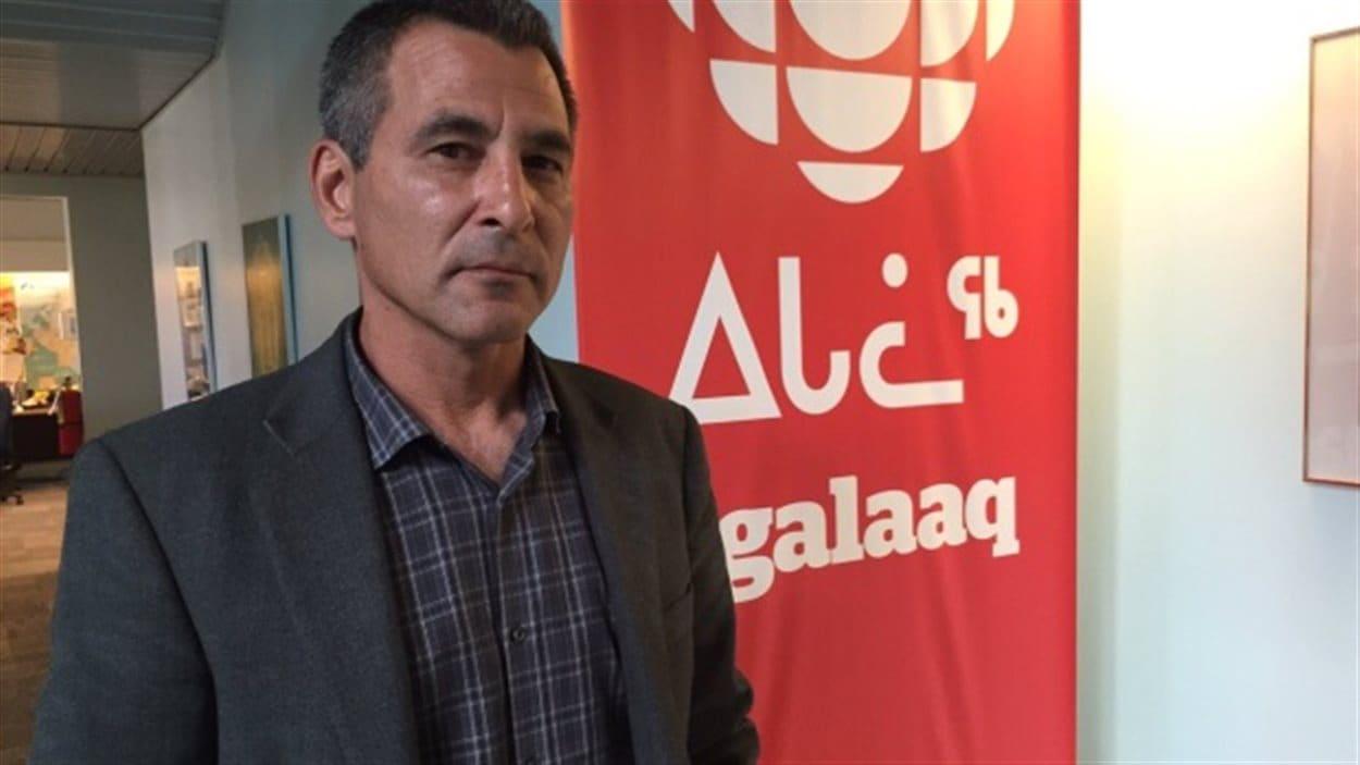 L'ancien ministre fédéral et député du Nunavut, Hunter Tootoo.