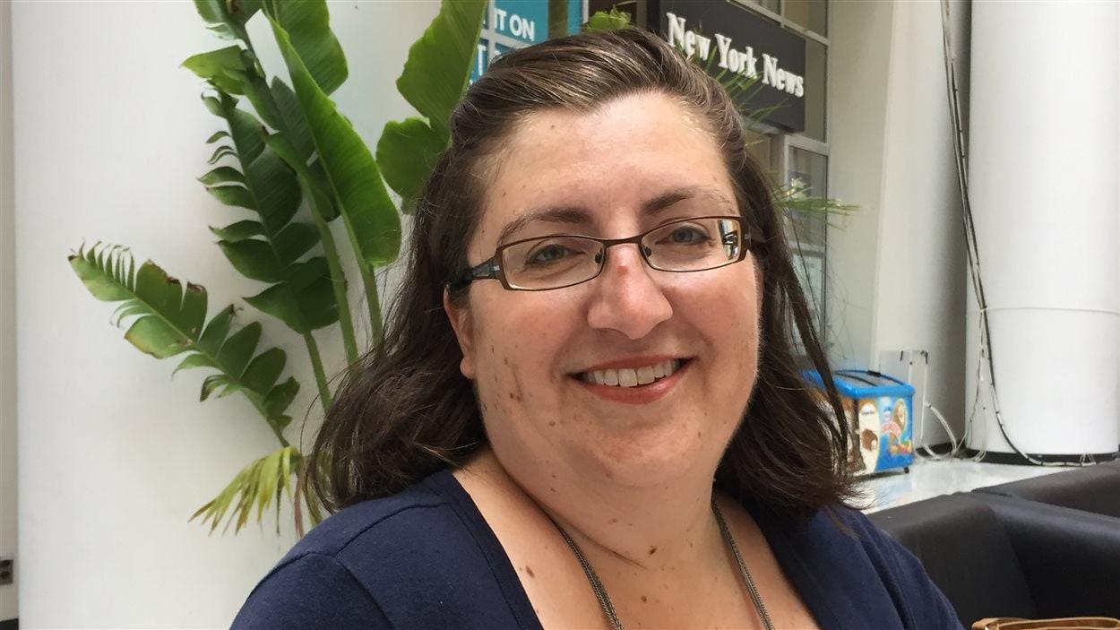 Portrait de Sophie Bernier, coordonnatrice du volet culturel chez Centre francophone de Toronto