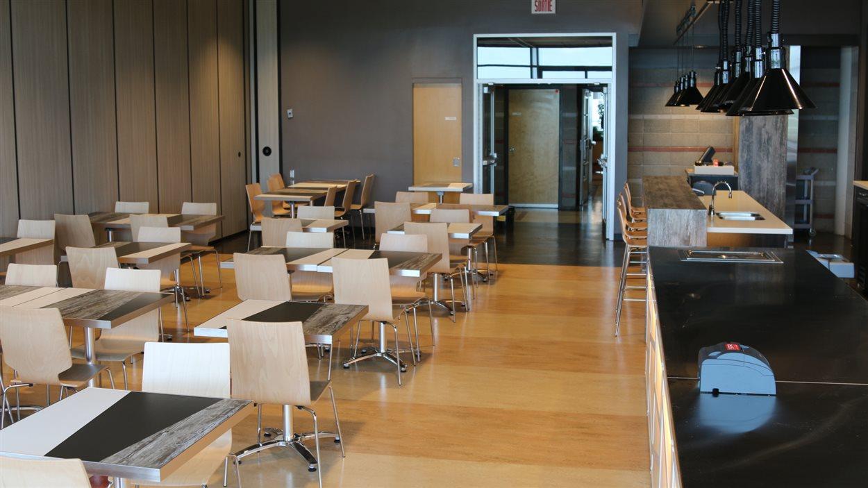 Le restaurant Le cercle universitaire de l'Université Laval.