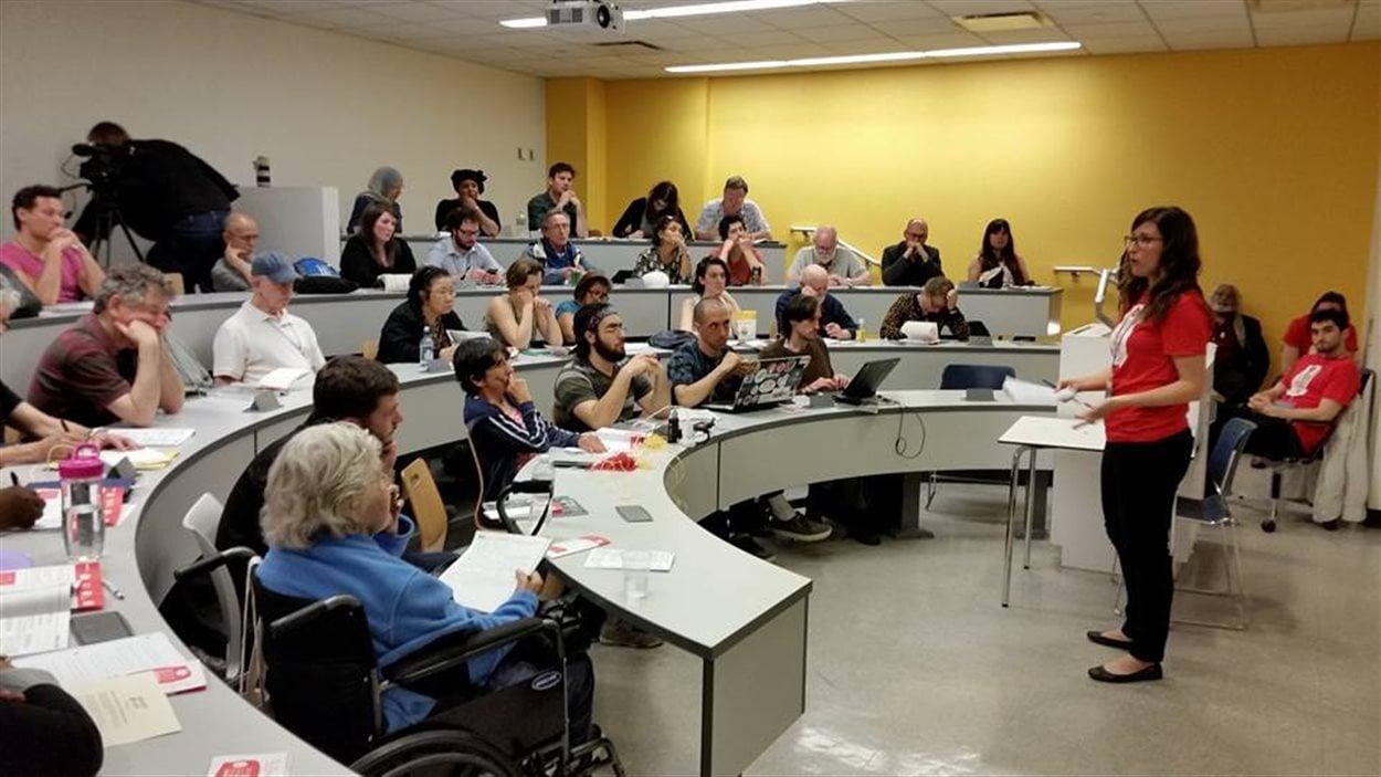 Le 12e Forum social mondial propose des conférences et d'autres activités à Montréal.