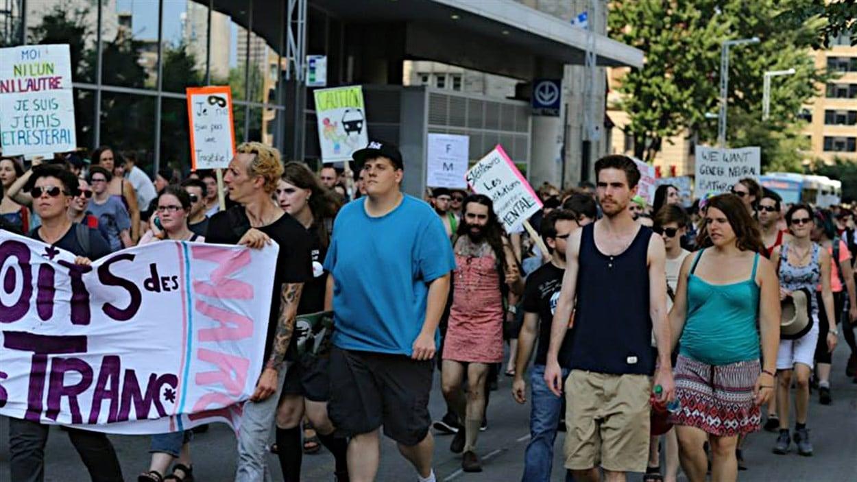 La manifestation de l'an dernier