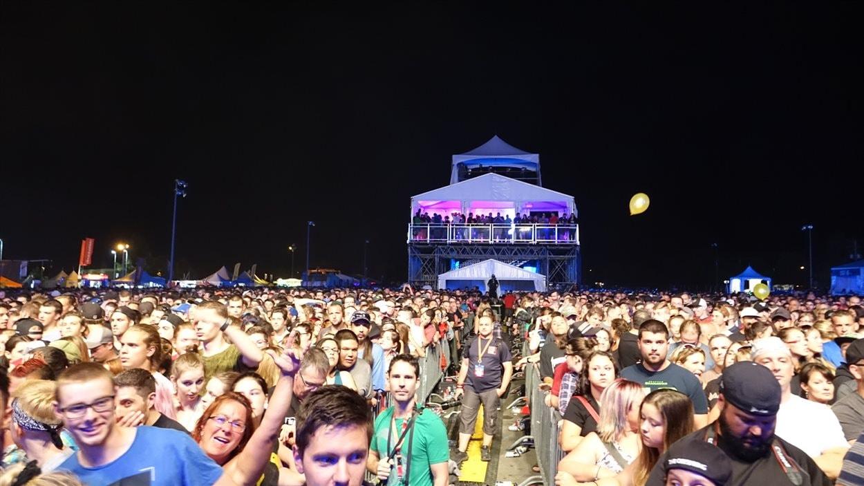 Le Festivent a enregistré la foule la plus importante de son histoire avec The Offspring.