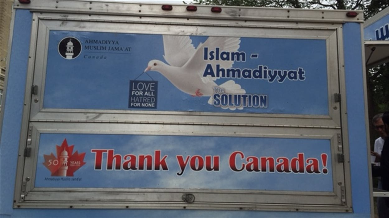 La caravane pour contrer l'islamophobie remercie le Canada.