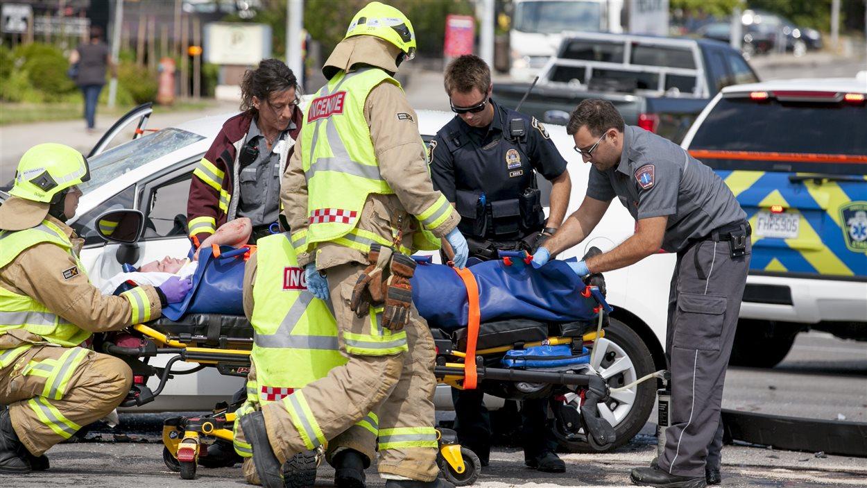 L'automobiliste qui a heurté une femme enceinte devant le CHUL pourrait avoir subi un malaise.
