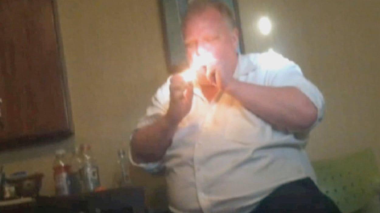 Rob Ford dans la vidéo