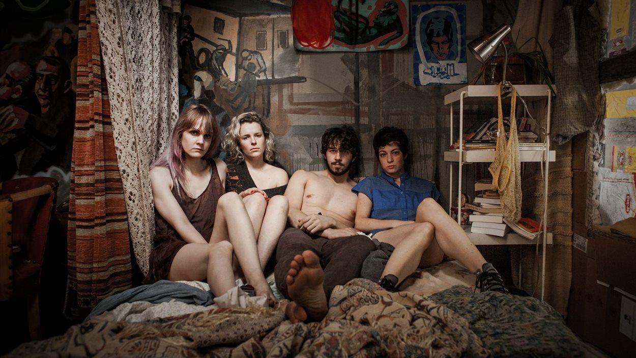Les quatre personnages du film « Ceux qui font les révolutions à moitié n'ont fait que se creuser un tombeau »