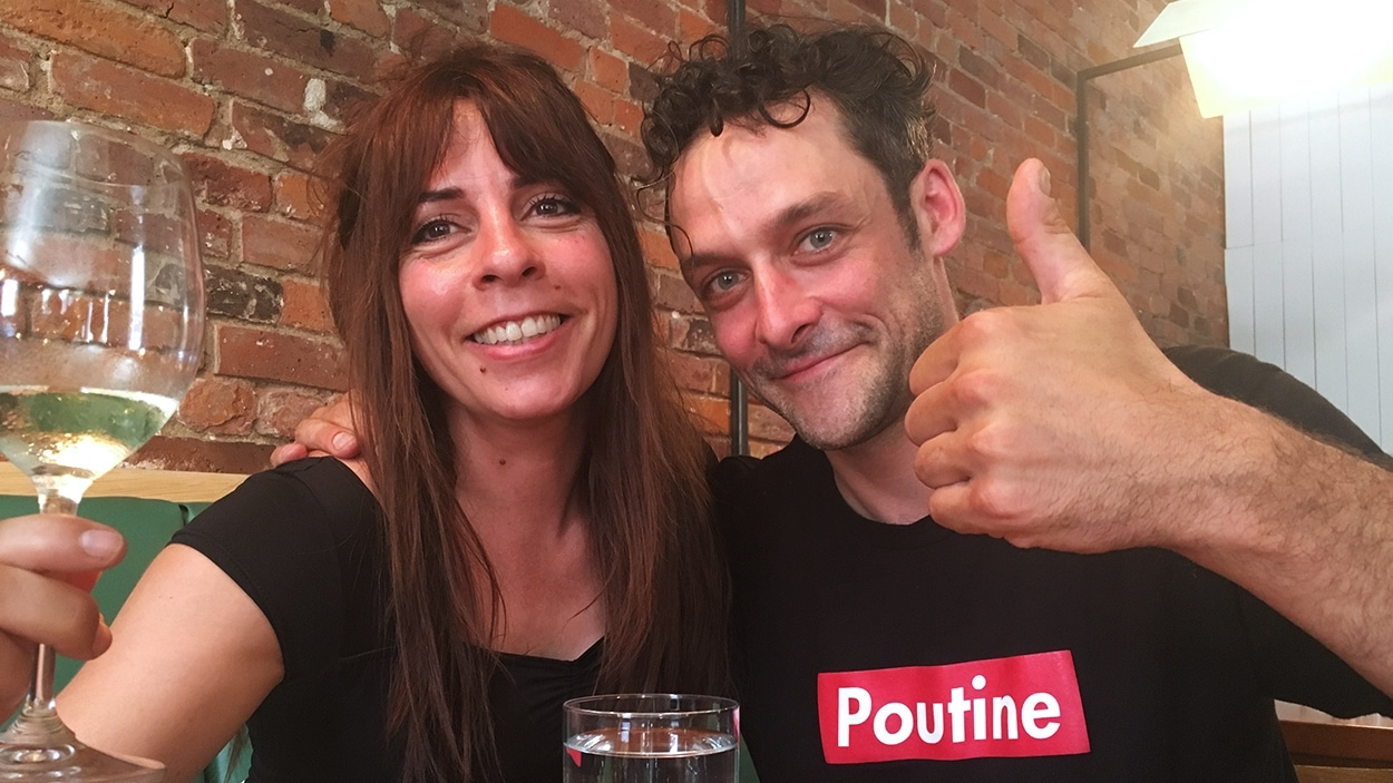 La comédienne Anne Casabonne et le restaurateur Charles-Antoine Crête