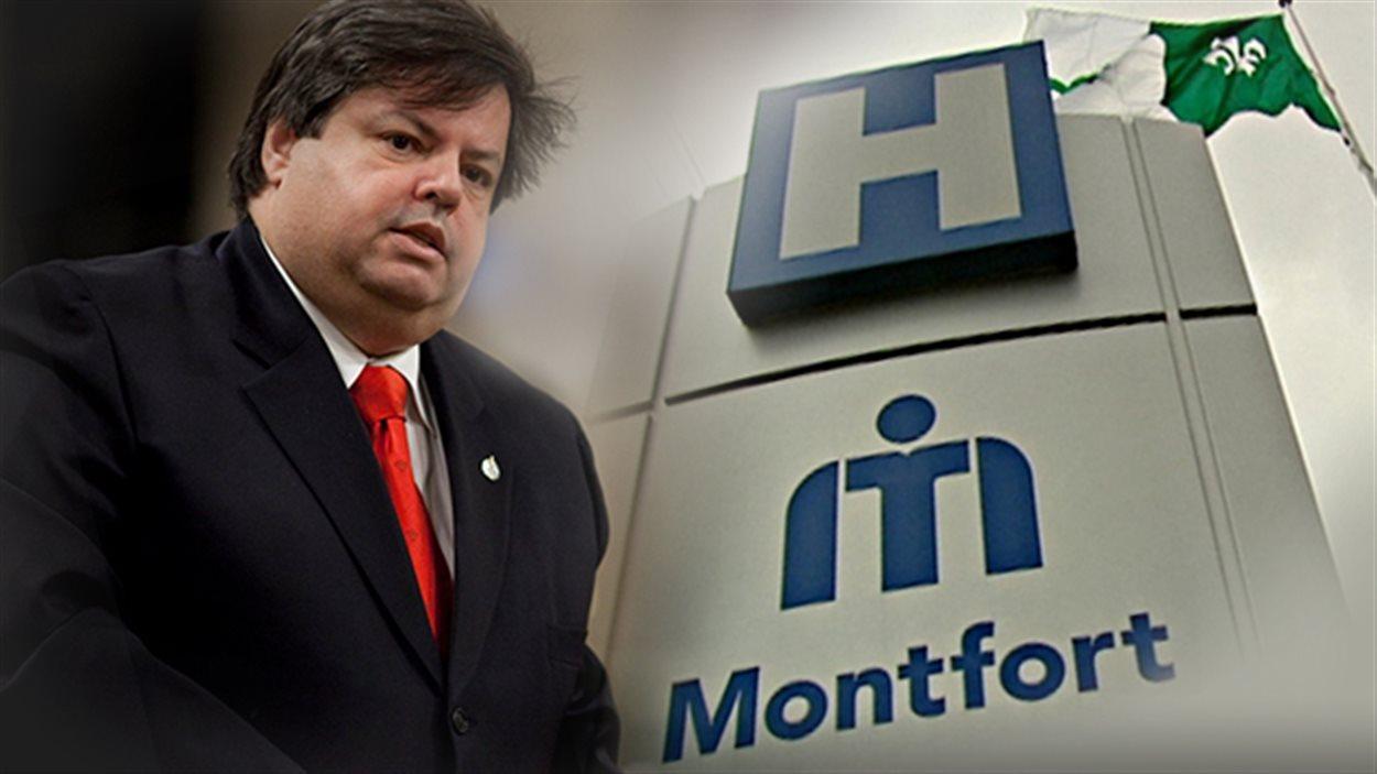La survie de l'Hôpital Montfort fut un des combats célèbre de Mauril Bélanger