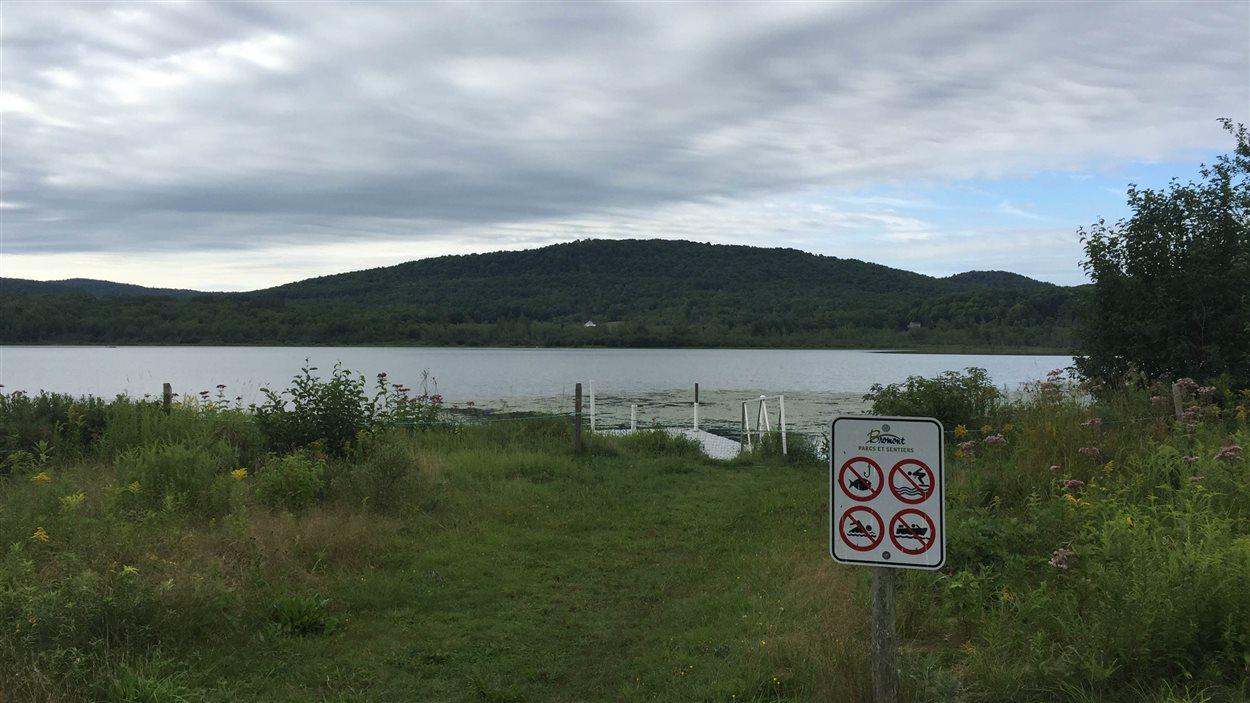 Le lac Bromont