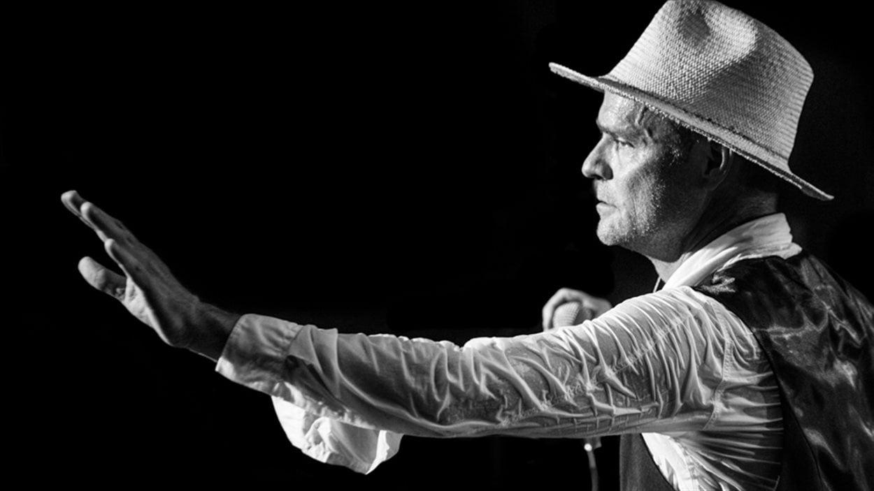 Gord Downie, chanteur de la formation Tragically Hip