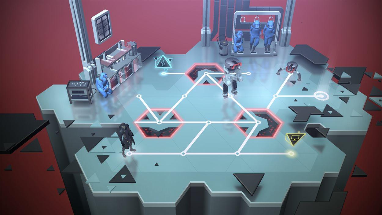 Le jeu mobile Deus Ex GO
