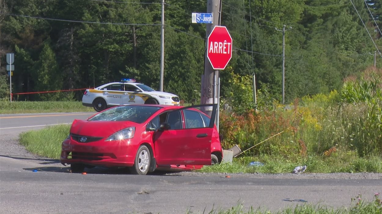 Deux personnes ont perdu la vie dans un accident survenu à Drummondville, vendredi