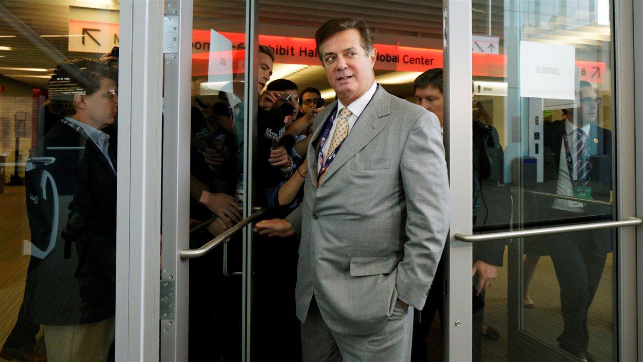 Paul Manafort lors de la convention républicaine à Cleveland en juillet