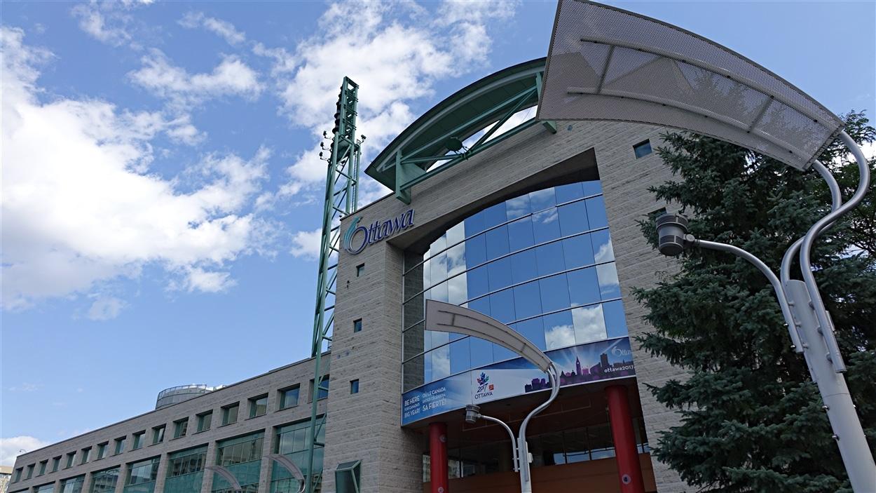 L'hôtel de ville d'Ottawa, rue Laurier