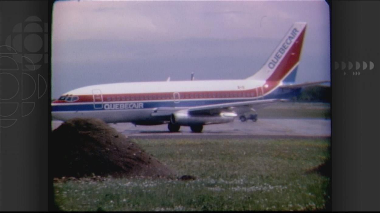 Autre appareil de Québecair, en 1985.
