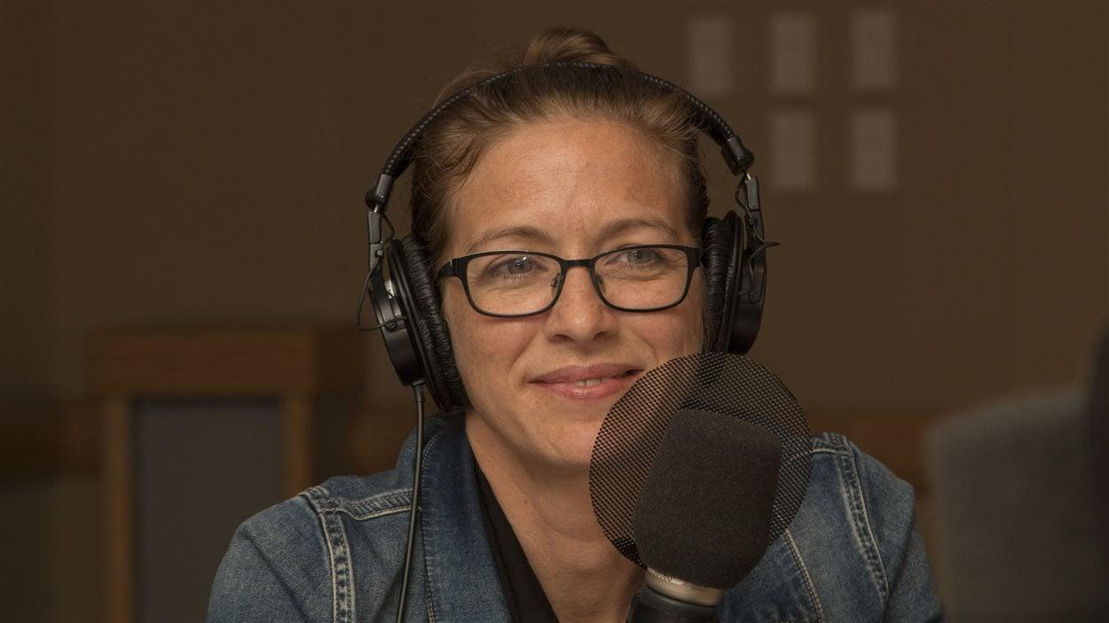 L'entrepreneure et ébéniste Stéphanie Lévesque