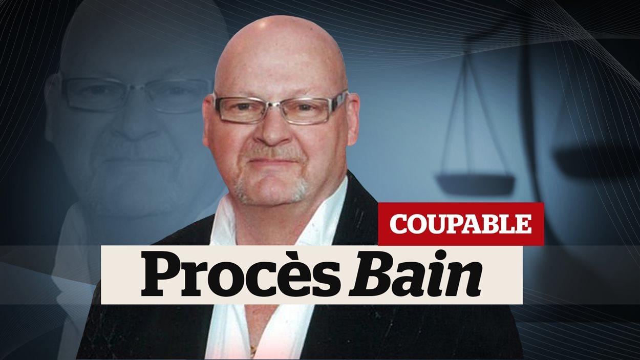 Richard Henry Bain a été déclaré coupable des quatre chefs d'accusation portés contre lui.