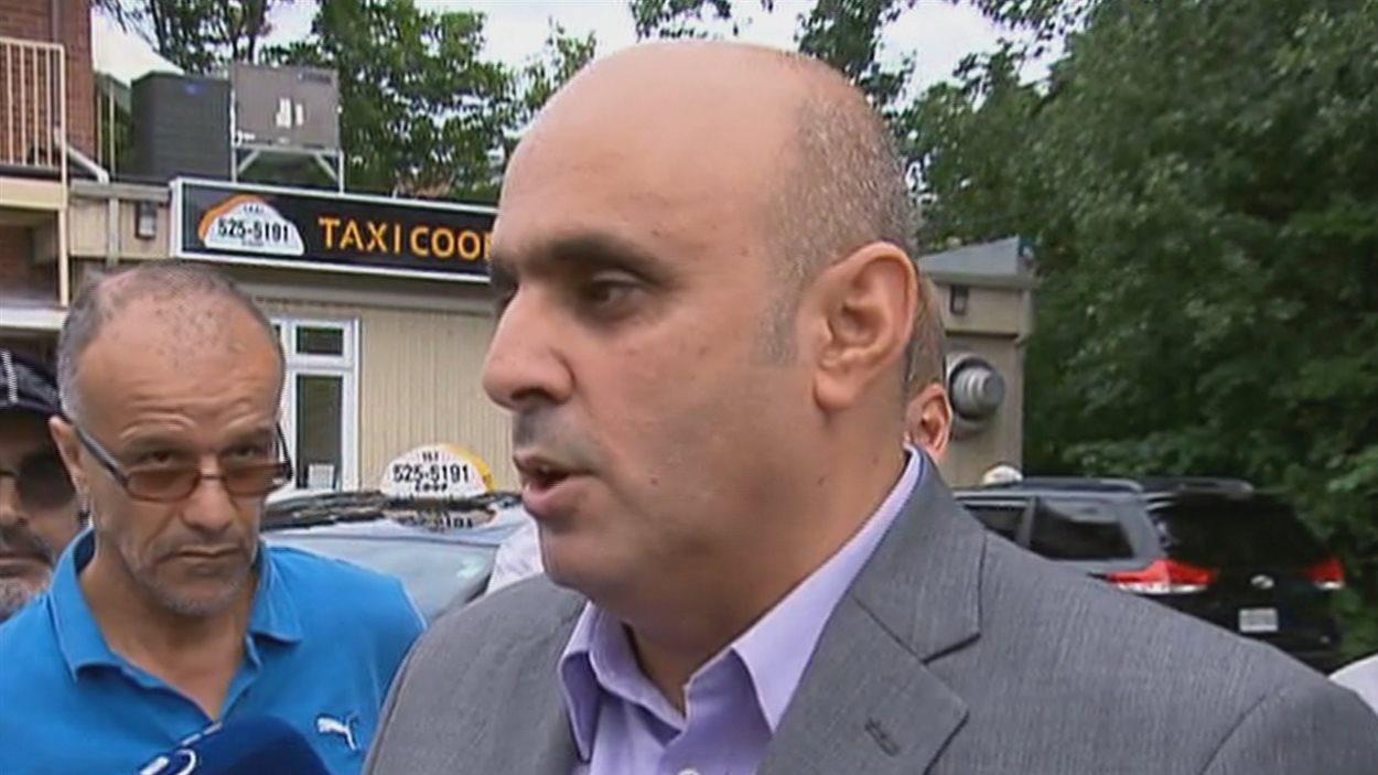 Le porte-parole de l'industrie du taxi de Québec, Abdallah Homsy