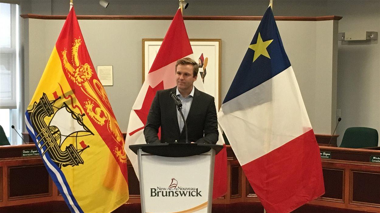 Le premier ministre du Nouveau-Brunswick, Brian Gallant, a fait l'annonce jeudi matin.