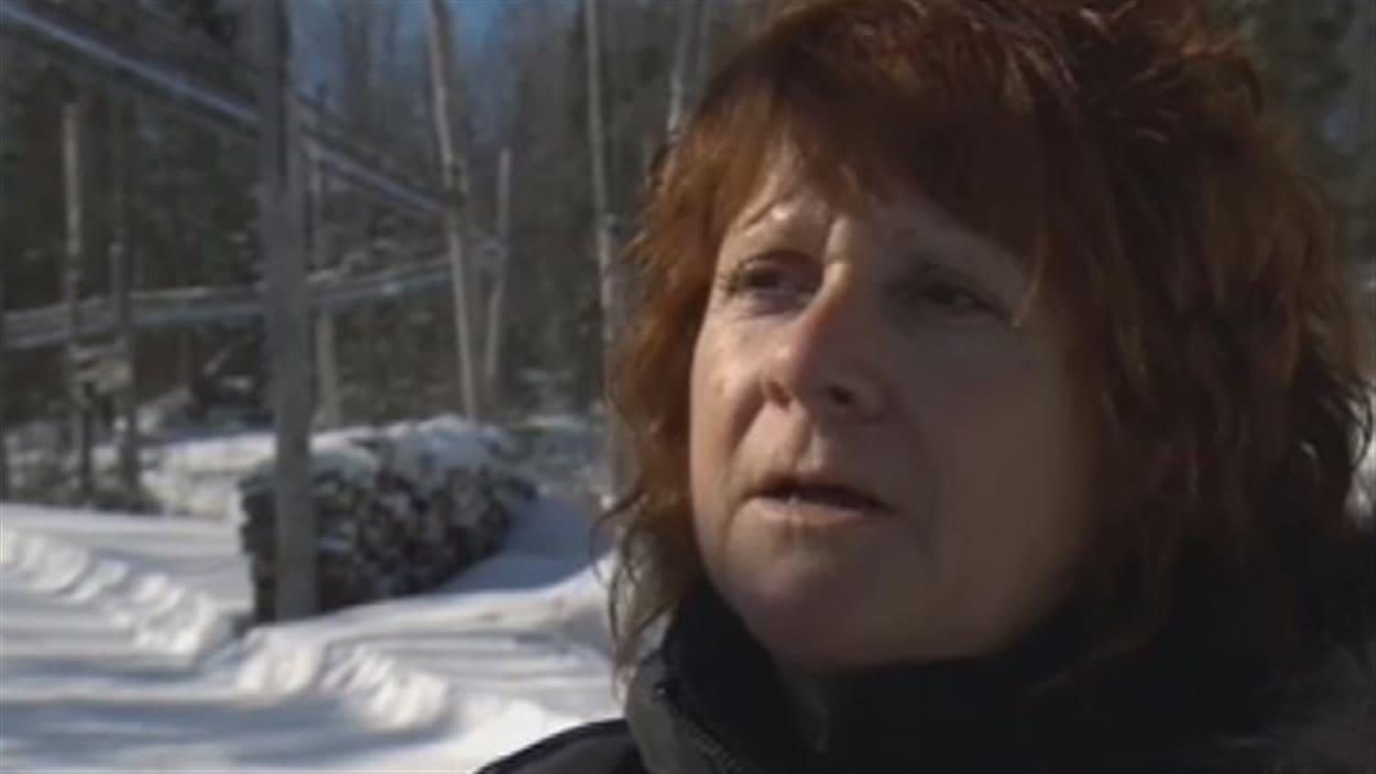 Angèle Grenier soutient devoir plus de 400 000 $ en amendes à la fédération.