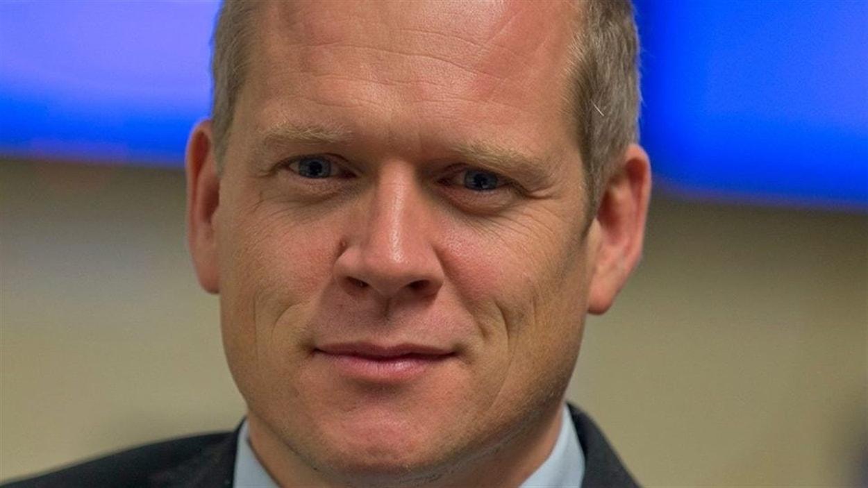 Brian Myles, directeur du quotidien montréalais «Le Devoir»