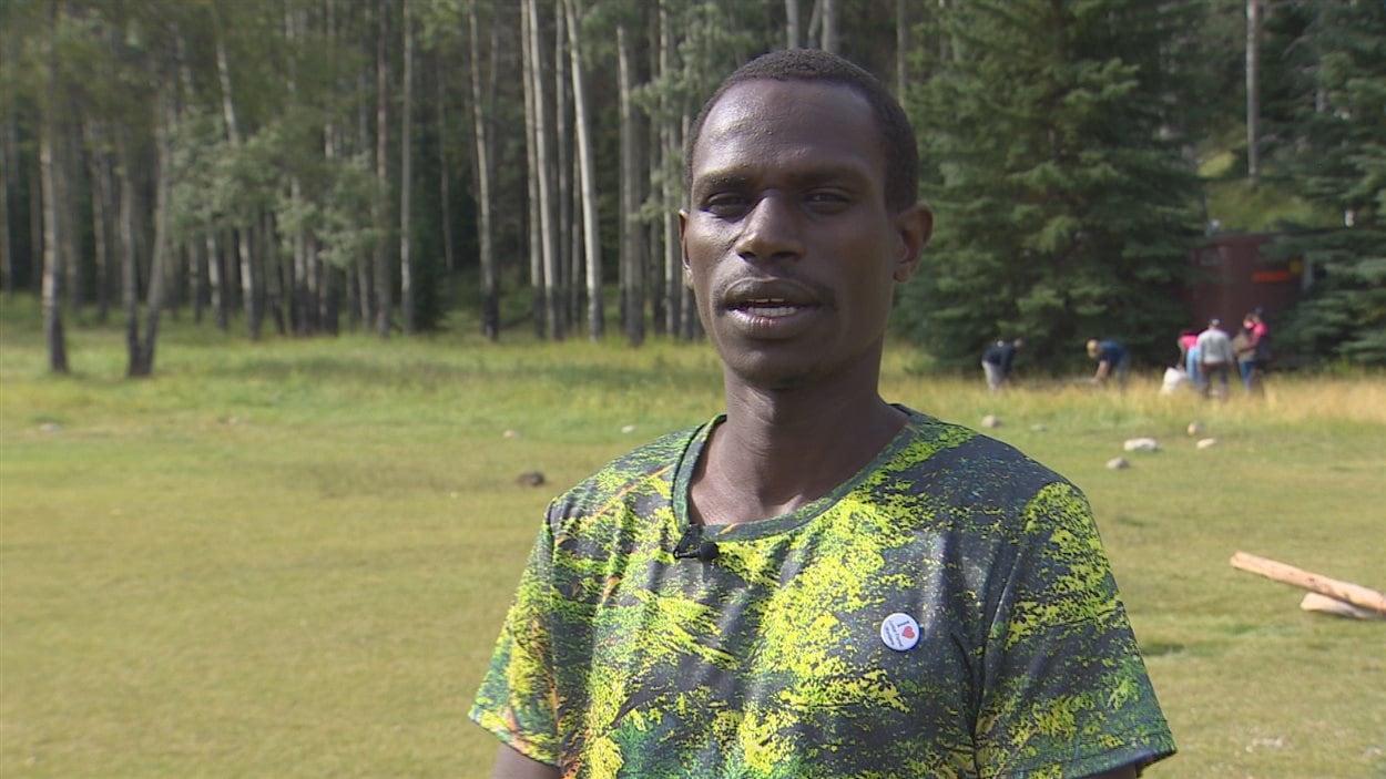 Alexis Mbonyincungu vient du Congo et a fuit la guerre.