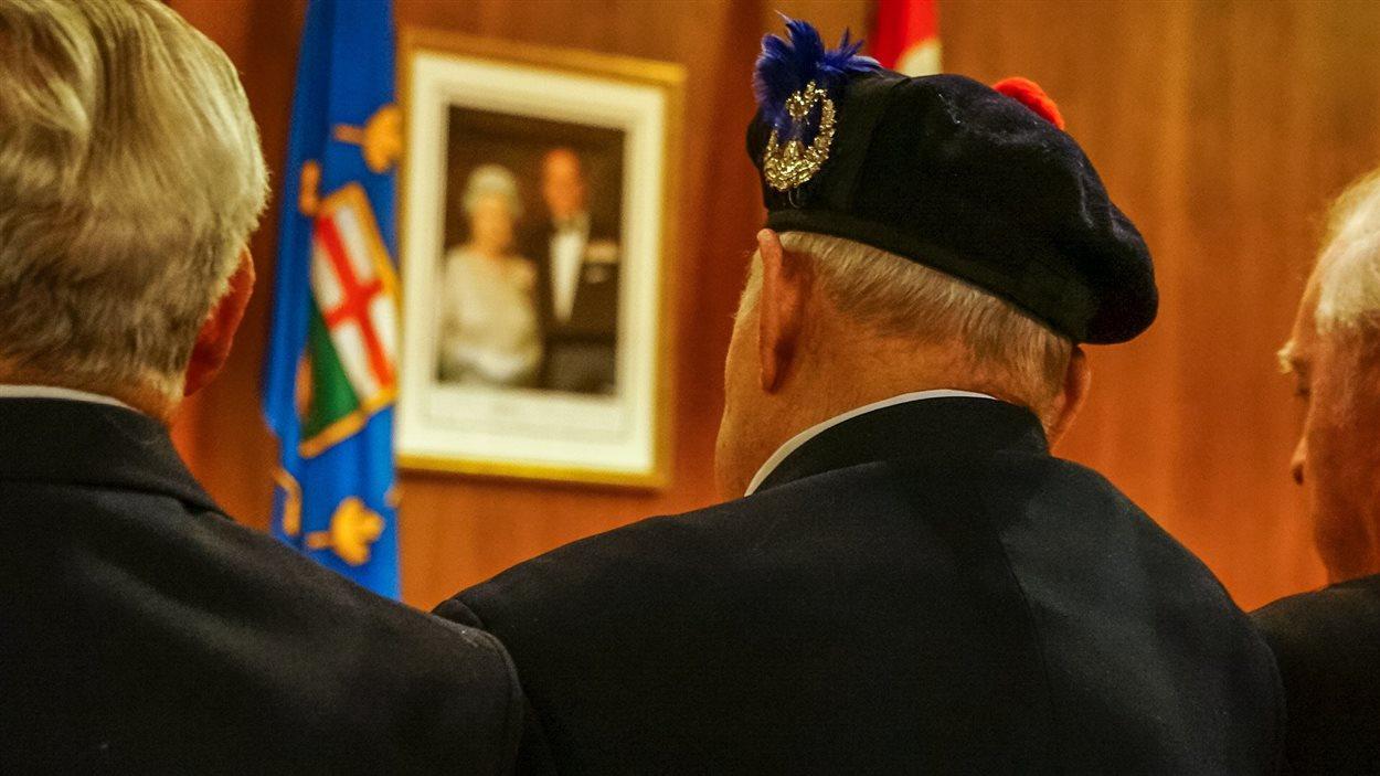 Des anciens combattants participant à une cérémonie (archives).