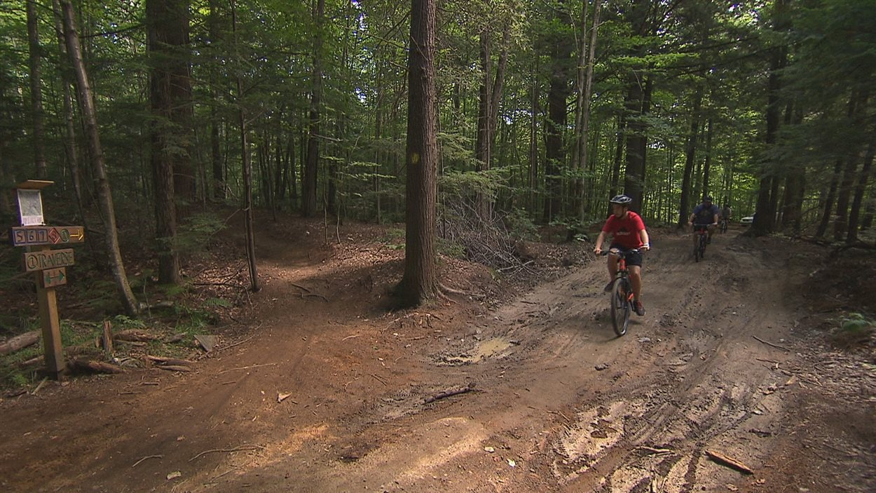 Le Vélo De Montagne Fait De Plus En Plus Dadeptes à Trois Rivières