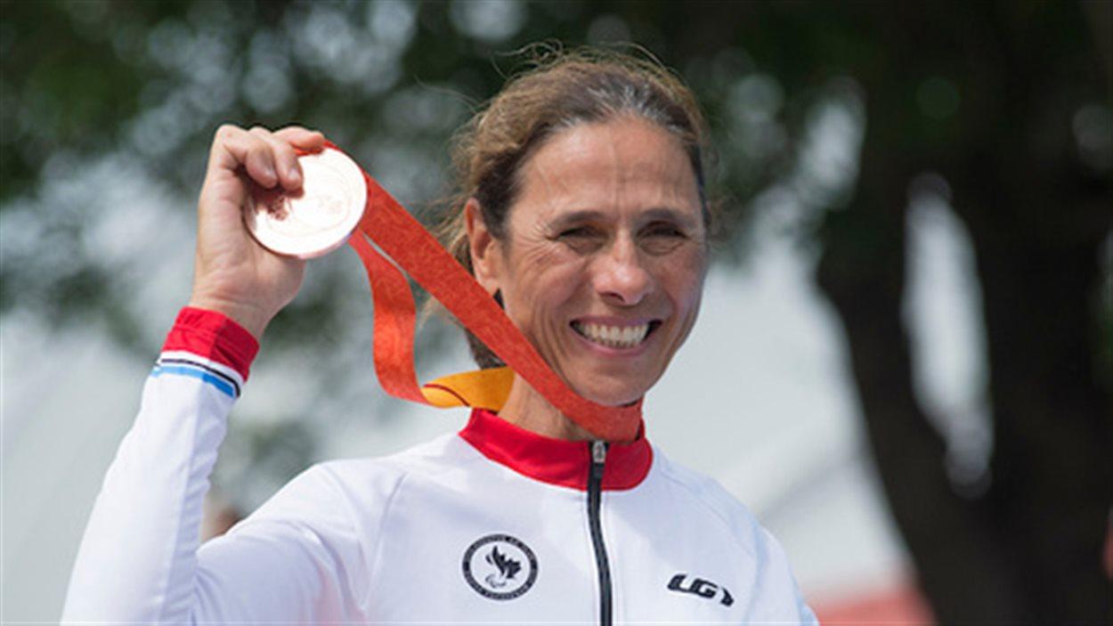 Nicole Clermont, médaillée aux Jeux parapanaméricains de Toronto
