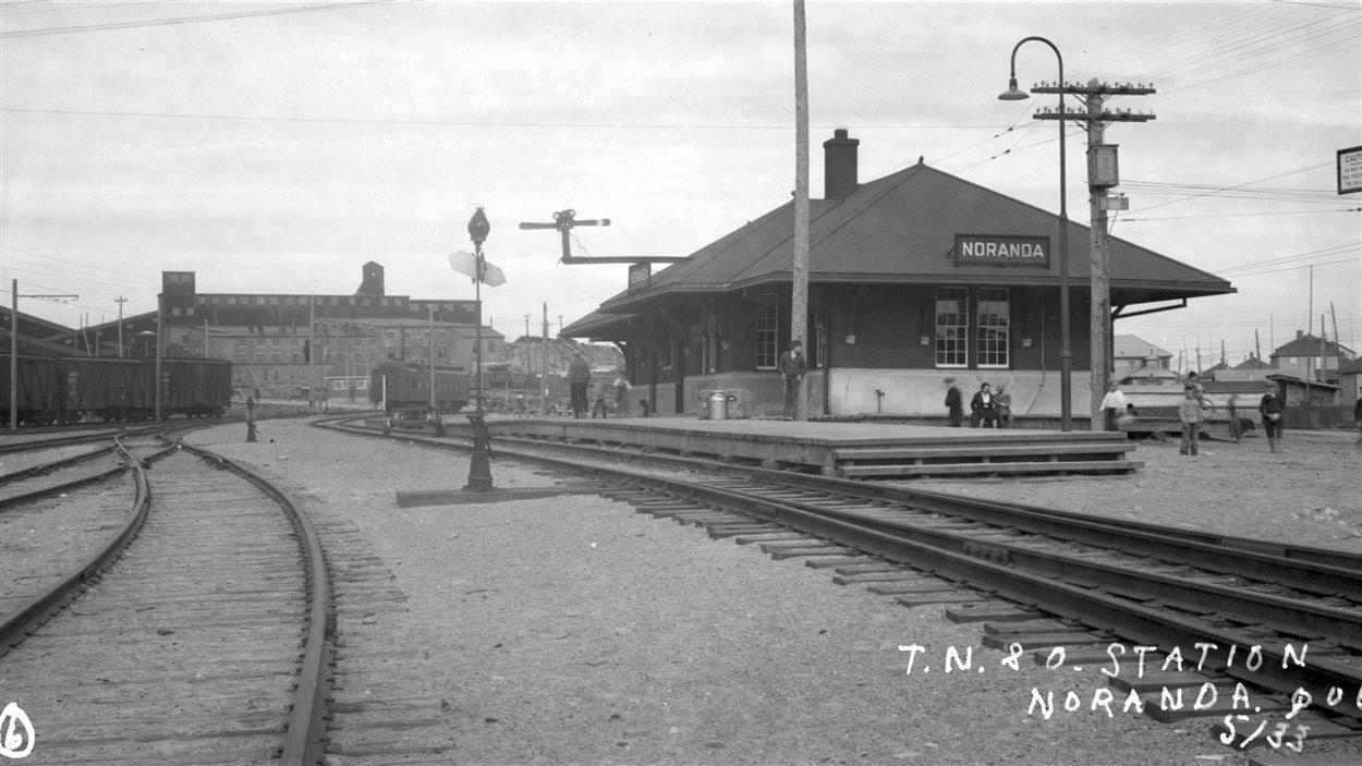 La gare du TNOR à Noranda
