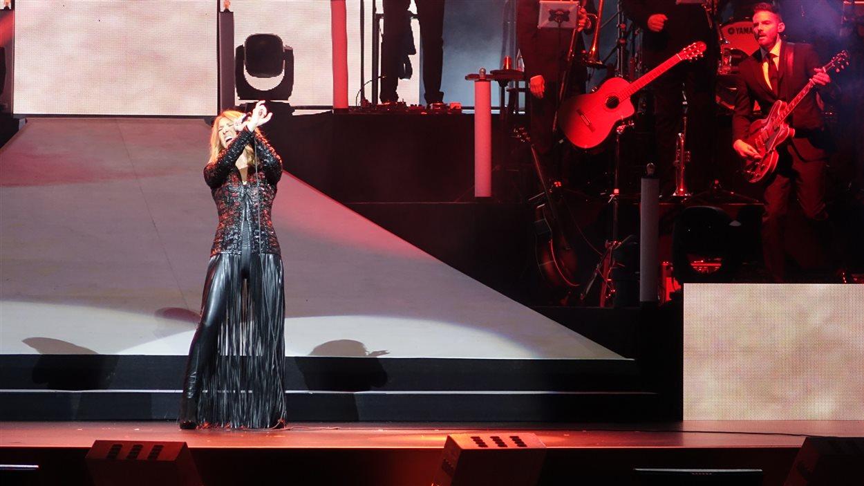 Céline Dion à Trois-Rivières.