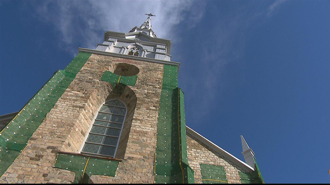 La cathédrale de Rimouski