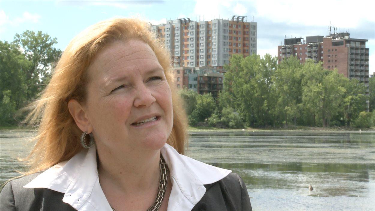 Lucie Bourgeois, présidente de l'entreprise Umalia, de Laval.